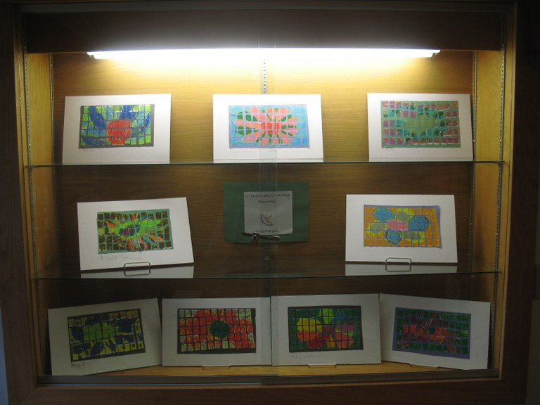 Art by BICS Students on Display